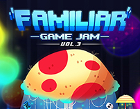 Familiar Game Jam #3 - Event Poster & Promotion