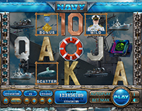 "Slot machine - ""Navy"""