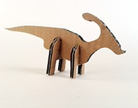 Kartonowe dinozaury - 1/ Cardboard dinosaurs - 1