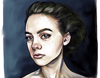 Digitally Painted Portraits