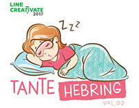 Tante Hebring Vol.02 LINE Sticker