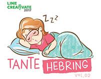 Tante Hebring Vol.02 LINE Sticker