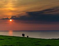 Sunsets from Devon