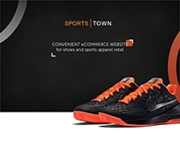 Sports Town - eCommerce store