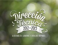 DIRECCIÓN TÉCNICA 2012-2015