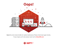 NIFTIT Maintainance Page