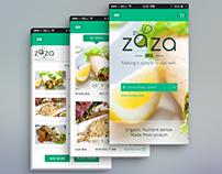 ZaZa Box App + Mobile UI