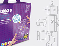Packages proposal for Kooglo Wooden Blocks