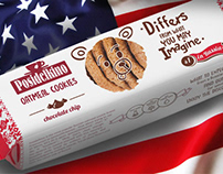 Oatmeal cookies Posidelkino for USA market