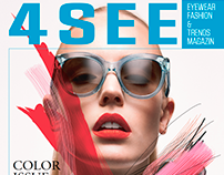 4SEE Magazin S/S 2015 Cover Story