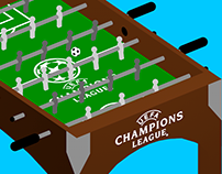 UEFA Champions League Goal Animations