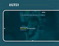 Rieter CZ – website redesign
