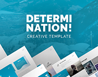 Determination PowerPoint Presentation Template
