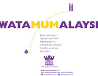 Imperial Bank Money Transfer campaign