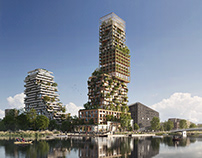 Urban Tree Village | Tower concept