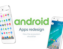 Android Apps Redesign