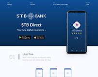 E-Banking Dashboard [STB Direct - STB Bank]