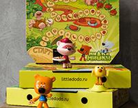 Kids promo pizza box
