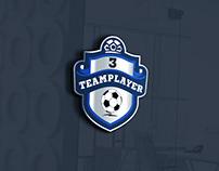 Foodball club logo design