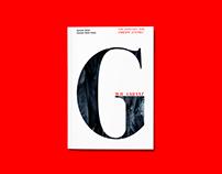 Garant Typeface - Typespecimen Booklet
