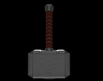 Mjölnir 3D Model