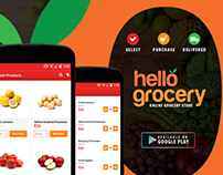 Online Grocery - Shopping App