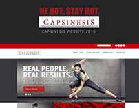 CAPSINESIS WEBSITE UI DESIGN 2016