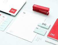 IXI Logo Design and Office Print Materials
