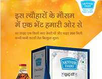 Mother Dairy - Poster Design