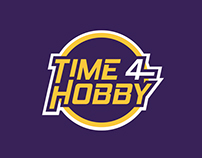 Time4Hobby logo design & Branding