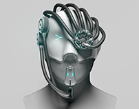 Cyborg Human Augmentation Concept