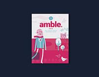 Amble Magazine Cover