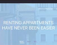 Housing Landing Page