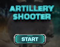 Artillery Shooter Game UI Design