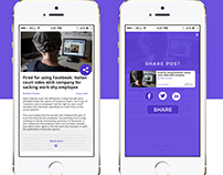 Social Share UI