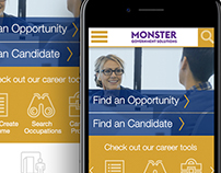 Monster Government Solutions Homepage