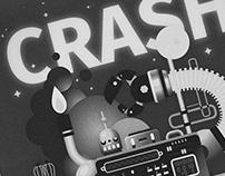 """Oldstyle poster """"Crash&Kill&Destroy"""""""