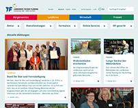 Landkreis Teltow-Fläming: Responsive Web Redesign