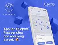 Teleport iOS app