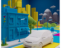 Saatchi & Saatchi LA / Toyota Prius C / Game of Life