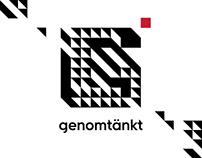 Genomtankt — Website, Corporative Identity