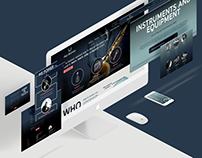Redesign of Paul Bothner's Music Store Website