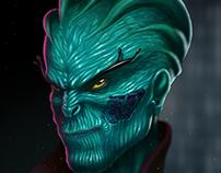 """Alien """"Major Berossus"""""""