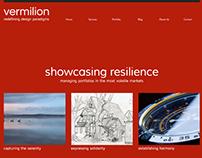 Vermilion Creative Agency Website Concept