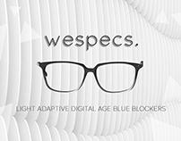 Wespecs Branding and Kickstarter promos