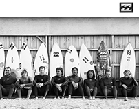 Mike Piscitelli + Billabong Campaigns