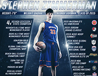 Stephen Zimmerman - Bishop Gorman Infographic