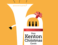 Kenton Christmas Poster