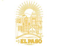 El Paso, Texas City Poster