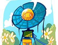 Flower Robot